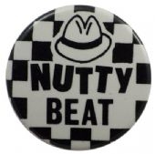Madness - 'Nutty Beat Hat' Button Badge